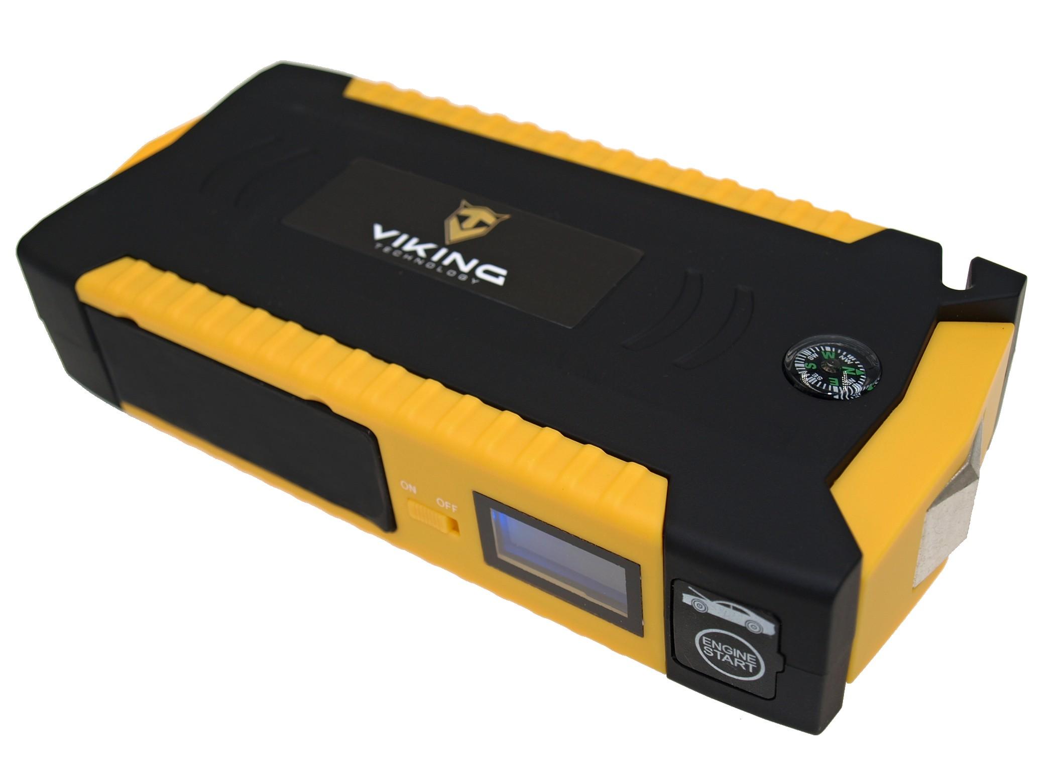 VIKING Car Jump Starter Zulu 19 19000mAh, Notebook powerbank, Žlutá - CJSZ19Y