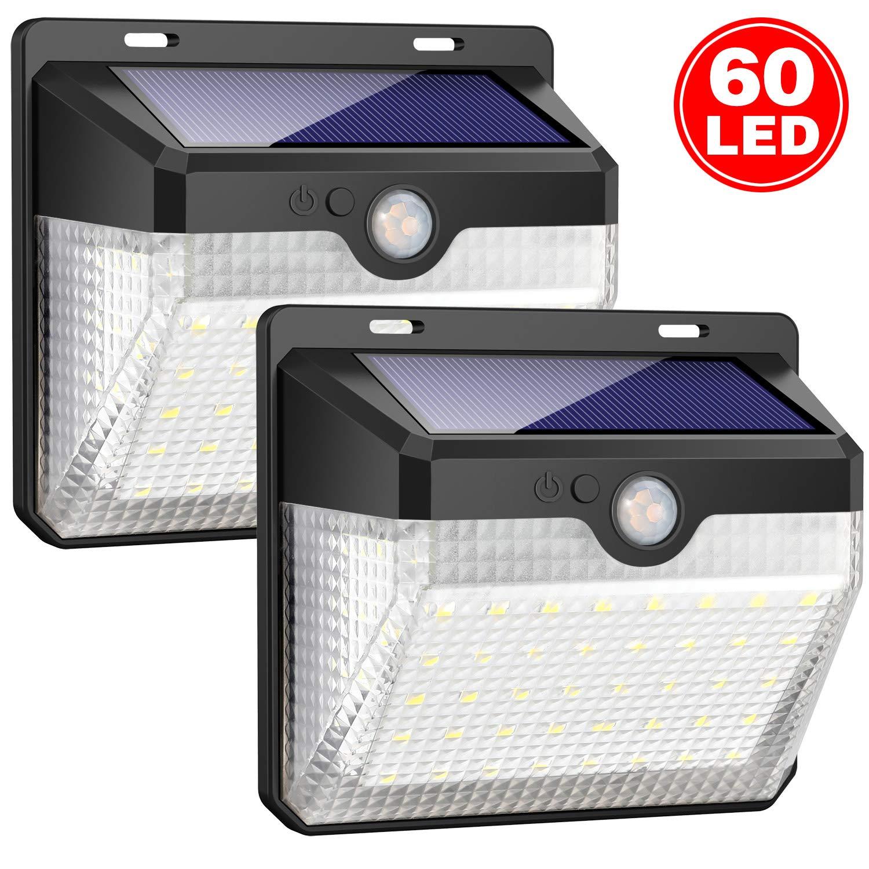 Venkovní solární LED světlo s pohybovým senzorem M60 - M60