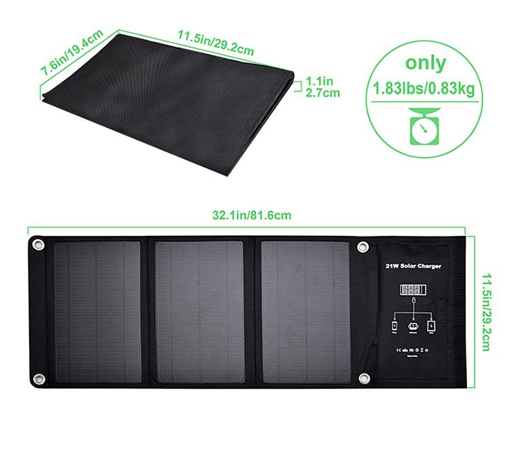 Solární panel VIKING 21W - VSP21W