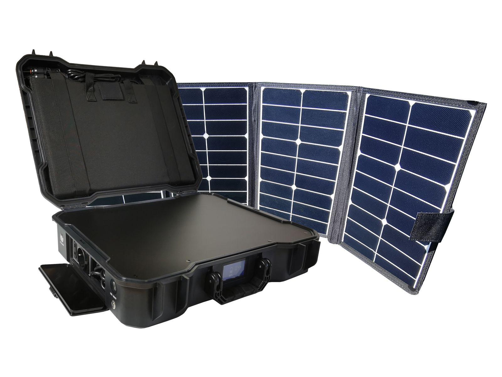 Bat. generátor Viking X-1000 a solární panel X80 - VX1000X80