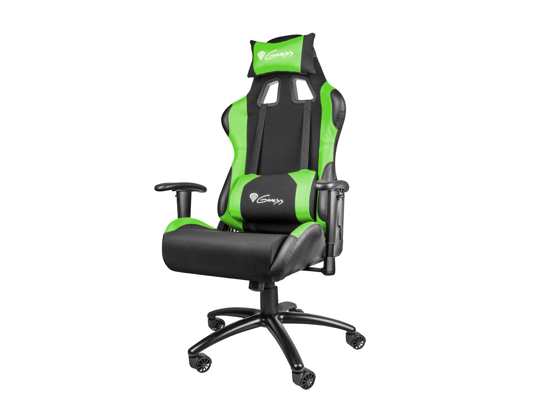 Herní křeslo Genesis Nitro 550 černo-zelené - NFG-0907