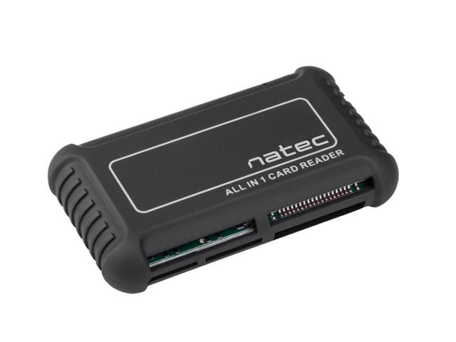 Čtečka karet ALL in One Natec Beetle, SD/MMC/micro SD/T-flash/M2/xD,CF - NCZ-0206