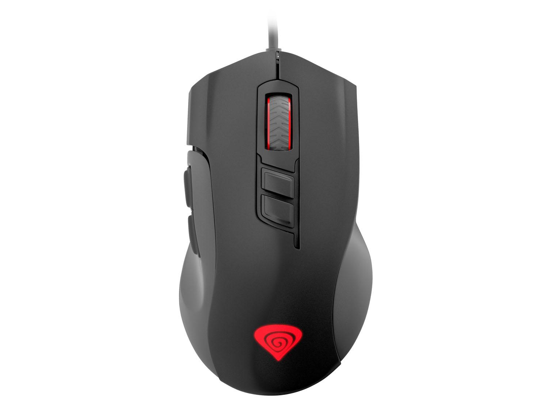 Herní optická myš Genesis Xenon 400, podsvícení, software, 5200 DPI