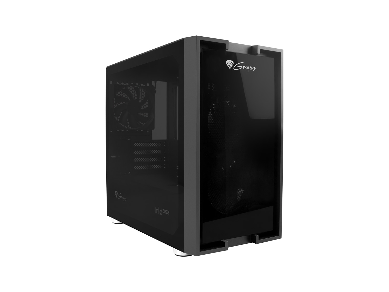 Počítačová skříň Genesis IRID 353 Mini-ATX, Micro-ITX (USB 3.0), 2x 120mm ventilátory