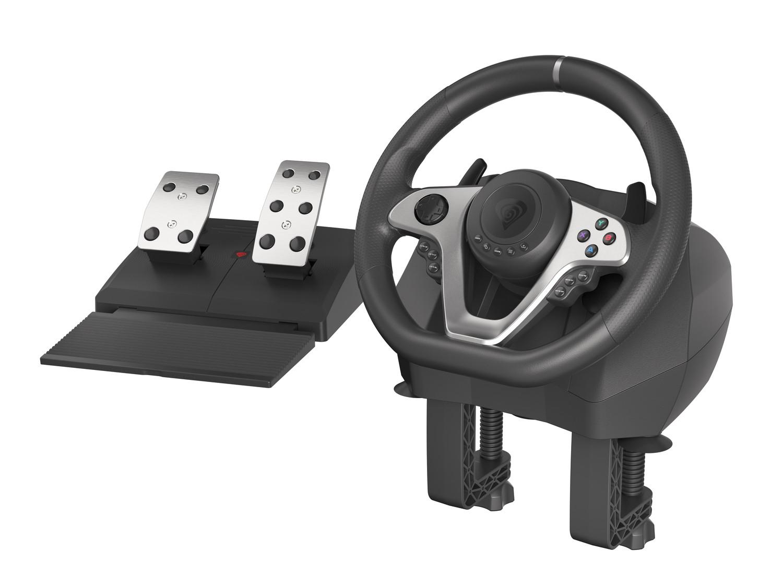 Herní volant Genesis Seaborg 400, multiplatformní pro PC,PS4,PS3,Xbox One, Xbox 360,N Switch - NGK-1567