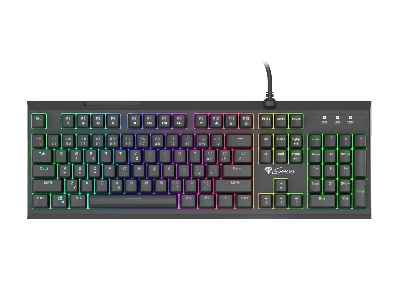 Genesis herní hybridní klávesnice THOR 210, CZ/SK layout