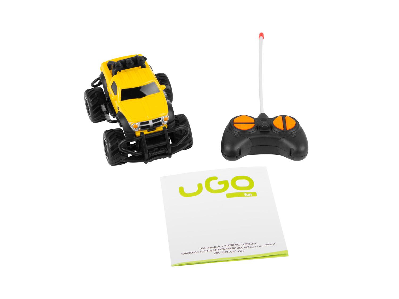 Ugo mini Monster - auto na dálkové ovládání 1:43, 10 km/h - URC-1329
