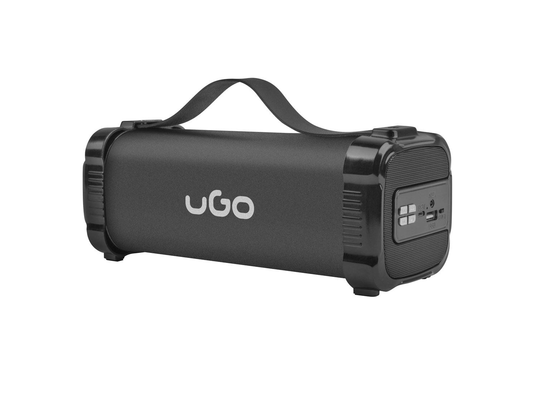 Bluetooth reproduktor UGO Mini Bazooka 2.0 5W, stereo, 1200 mAh, FM radio, USB, AUX - UBS-1484