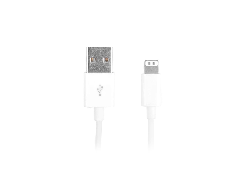 Natec certifikovaný MFI kabel Lightning pro Iphone 1,5m bílý - NKA-1535