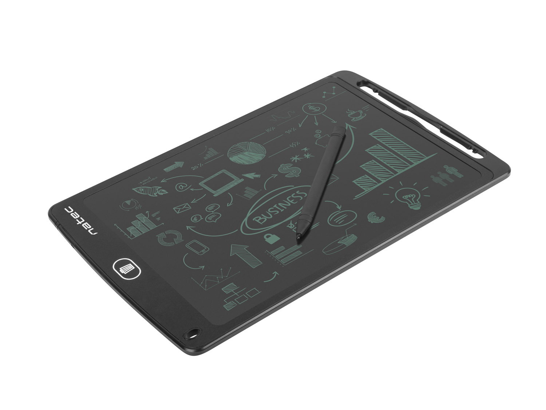 Natec Snail 10'' digitální zápisník pro kreslení a psaní, magnetický držák - NWT-1570