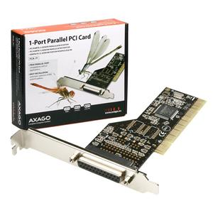 AXAGO PCI adapter 1x paralel port