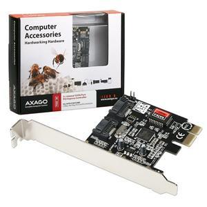 AXAGO PCIe řadič 2x int.SATA 3G RAID