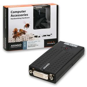 AXAGO USB2.0 - DVI/HDMI/VGA adapter FullHD