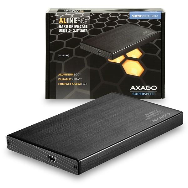 AXAGO USB3.0 - SATA 2.5'' externí ALINE box