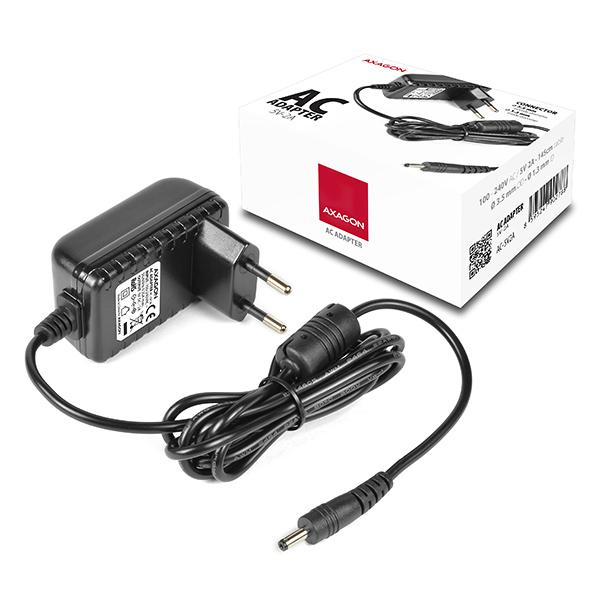 AXAGON kompaktní AC adapter 100-240V / 5V-2A