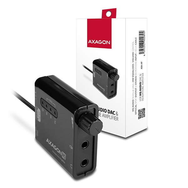 AXAGON USB2.0 - HQ audio 96kHz S/PDIF+sl. zes.