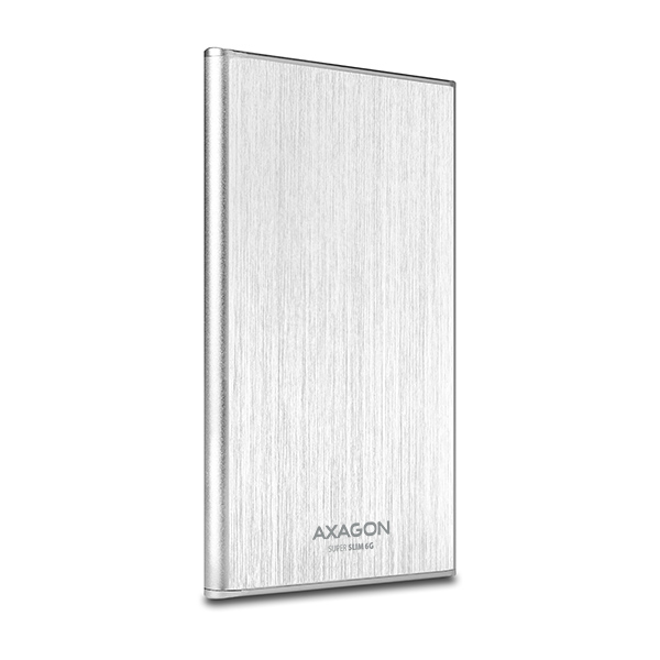 AXAGON USB3.0 - SATA 6G 2.5'' 7mm SLIM box SILVER
