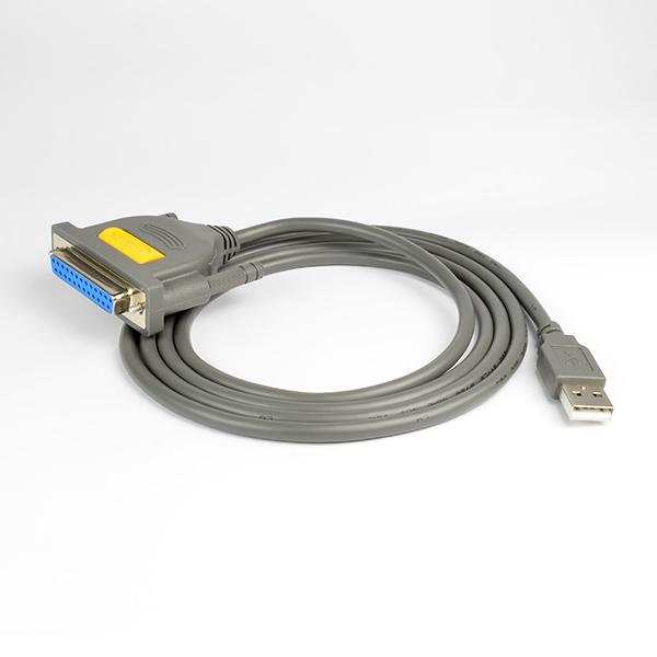 AXAGON ADP-1P25, USB2.0 - paralelní DB25F printer adaptér, 1.5m - ADP-1P25