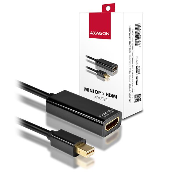 AXAGON Mini DisplayPort -> HDMI adaptér, FullHD