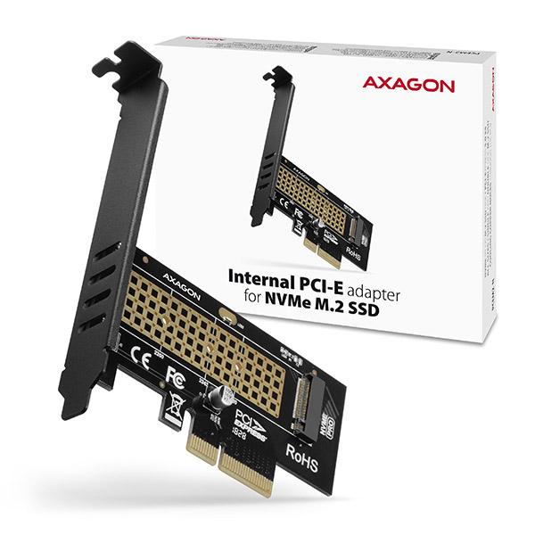 AXAGON PCEM2-N, PCIe x4 - M.2 NVMe M-key slot adaptér - PCEM2-N