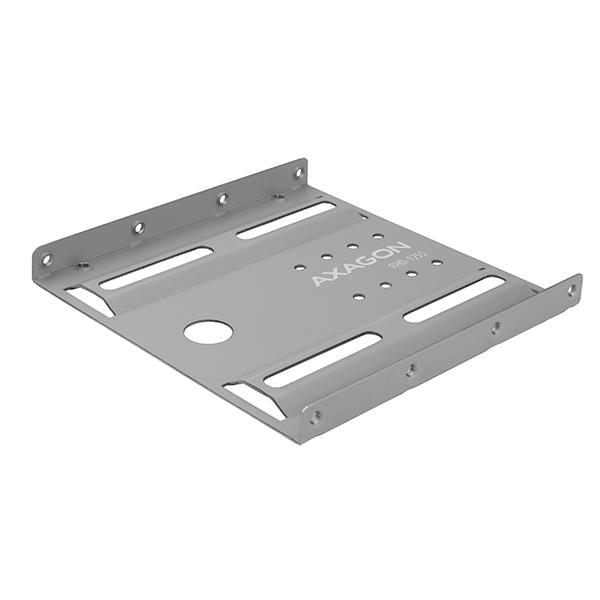 AXAGON RHD-125S, kovový rámeček pro 1x 2.5'' HDD/SSD do 3.5'' pozice, šedý - RHD-125S