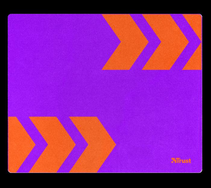 podložka TRUST Primo Mousepad - purple/orange