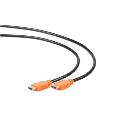 GEMBIRD Kabel HDMI-HDMI M/M 1m, 1.4, M/M CCS Eth. černý