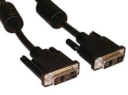 Kabel  přípojný  DVI-DVI, M/M,4,5m DVI-D dual link