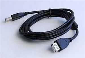 Kabel USB A-A 1,8m 2.0 prodl. HQ s ferrit. jádrem - CCF-USB2-AMAF-6