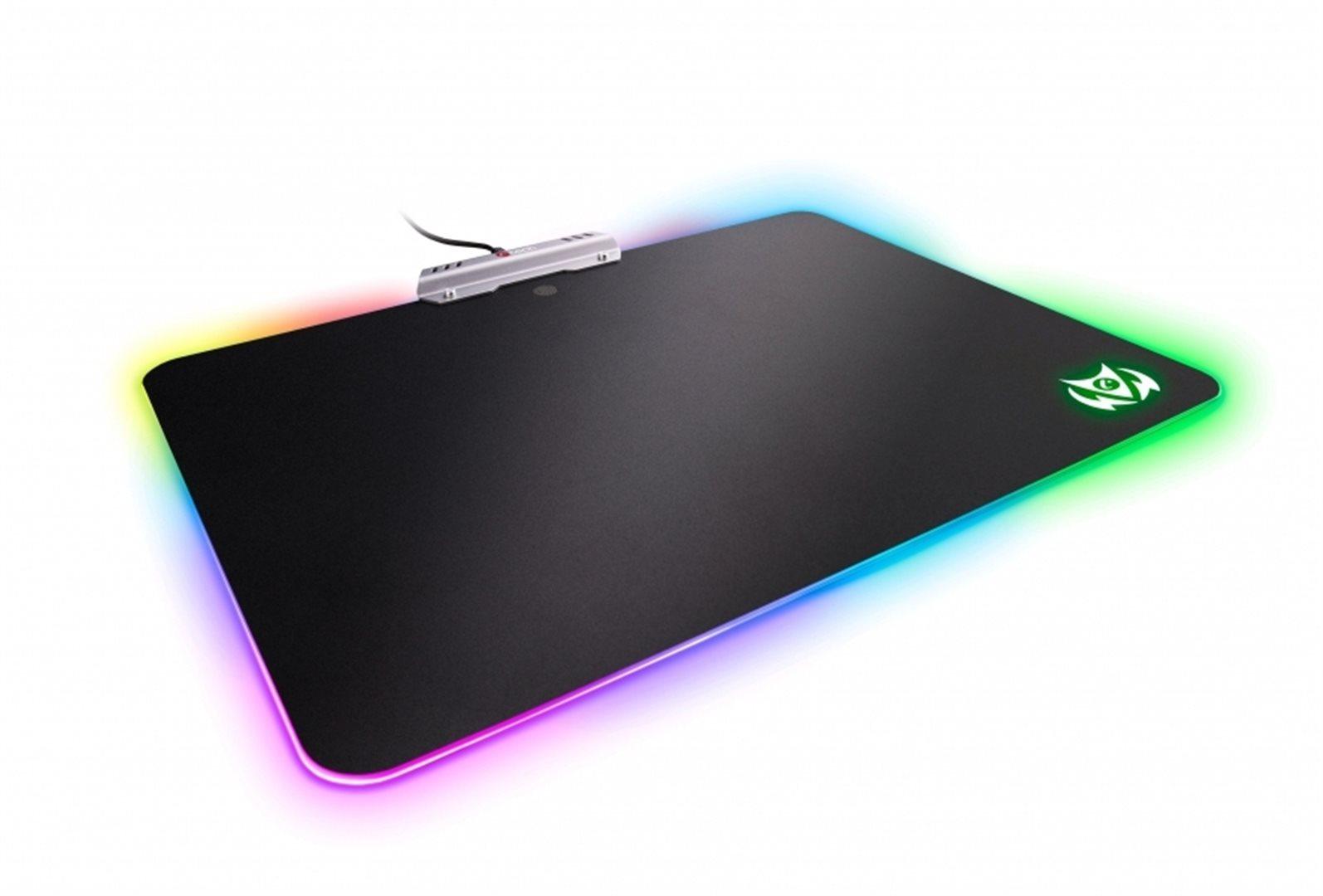 C-TECH ARION, Herní podložka GMP-07U, 7 barev podsvícení, USB