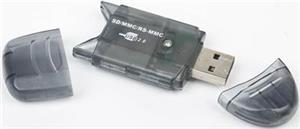 GEMBIRD Čtečka karet mini ALL IN 1, FD2-SD-1 - FD2-SD-1