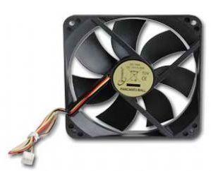 Ventilátor do skříně 120x120 kuličkové ložisko