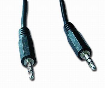 Kabel přípojný jack 3,5mm M/M, 5m, audio