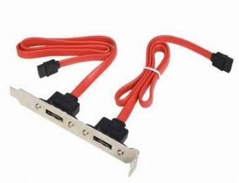 Kabel ESATA PORTY přídavné 2 x ESATA pro m/b