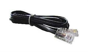 Kabel Telefonní drát 100m černý