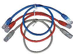 GEMBIRD Eth Patch kabel c5e UTP 5m - červený