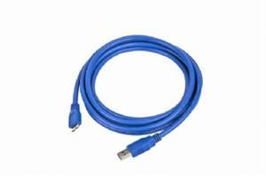 Kabel USB A-B micro 1,8m 3.0, modrý
