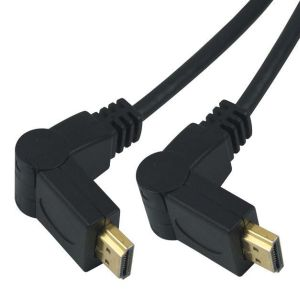 PremiumCord Kabel HDMI A - HDMI A M/M 3m, rotační