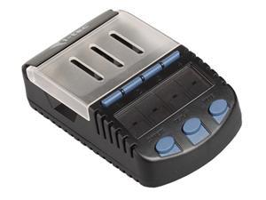 i-tec Battery Station - nabíječka, tester, LCD