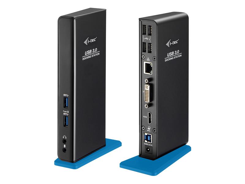 i-tec USB 3.0 Dual Video DVI HDMI Docking Station