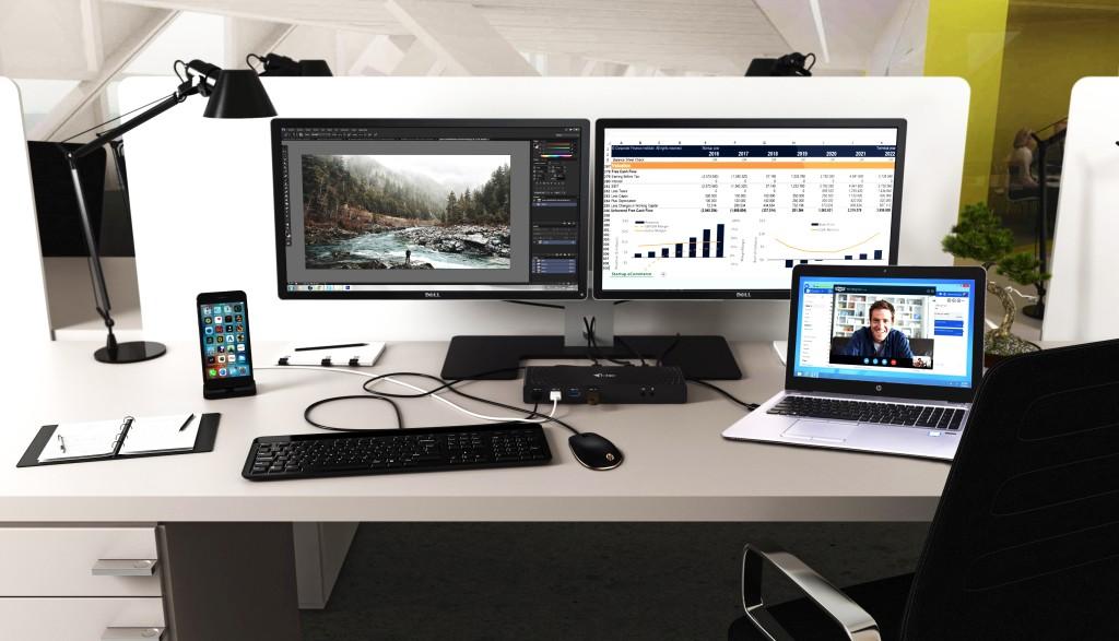 CADUAL4KDOCK i-tec USB 3.0 / USB-C 5K Univerzální dual dokovací stanice