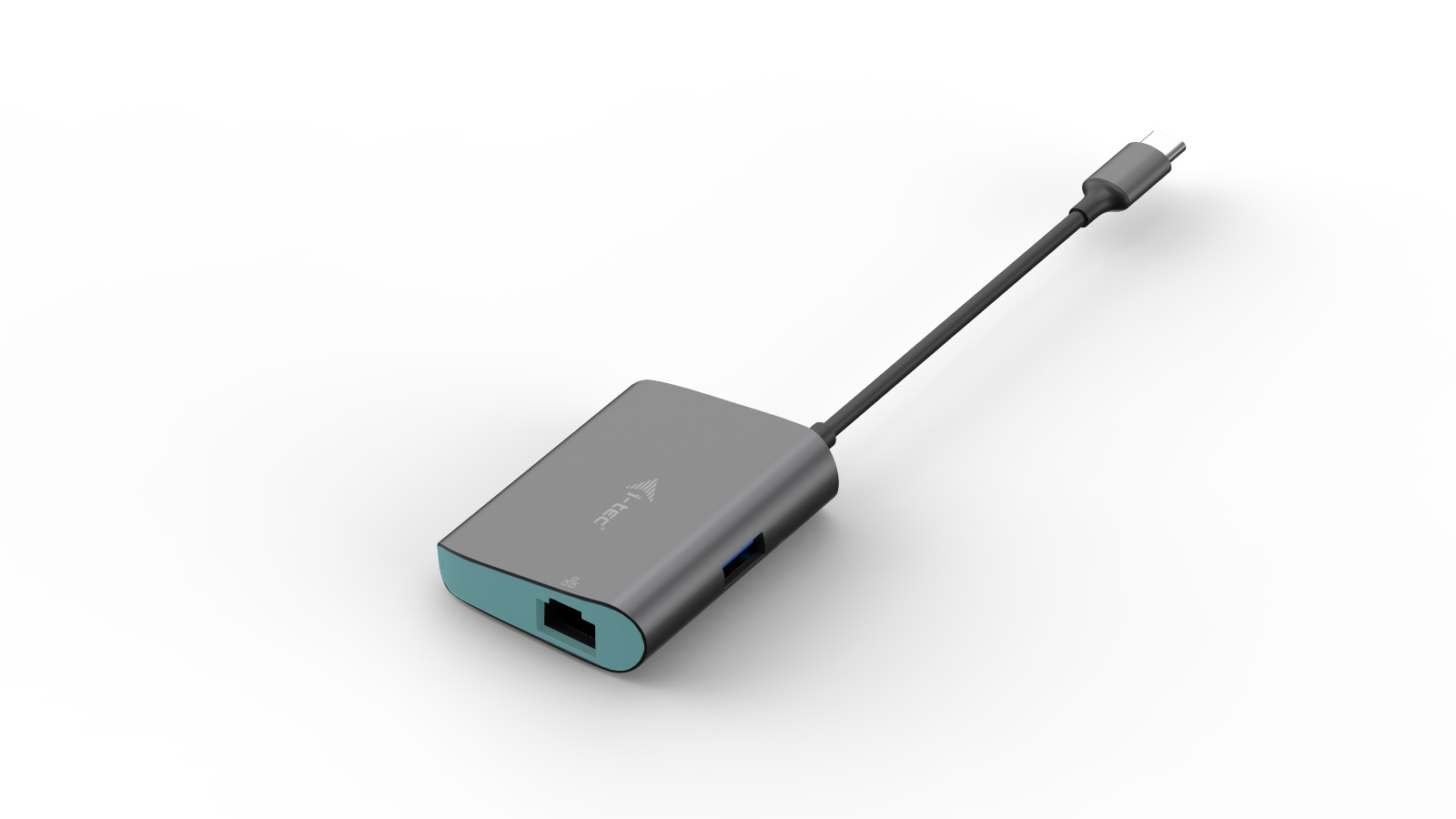 i-tec USB-C Metal Hub s Gigabit Ethernet adaptérem