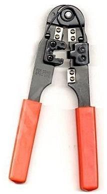 PremiumCord Krimpovací kleště na kabel 10 žil RJ50 - zn-28