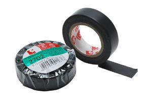 PremiumCord Izolační páska PVC 15/10 černá - zvpep01