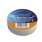 PremiumCord Izolační páska PVC 15/10 bílá - zvpep02