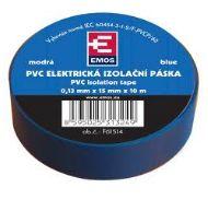PremiumCord Izolační páska PVC 15/10 modrá - zvpep04