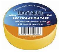 PremiumCord Izolační páska PVC 15/10 žlutá - zvpep05