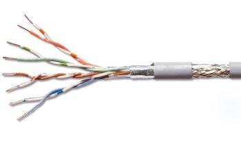 PremiumCord SF/UTP kabel cat5e 305m, lanko - sftpl5c3