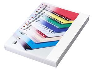 Kartonové desky Chromo A4, 250g, bílá - LAMCOCH400BL
