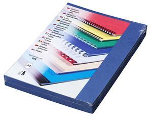 Kartonové desky Delta A4, 250g, modrá královská - LAMCODA4000RB